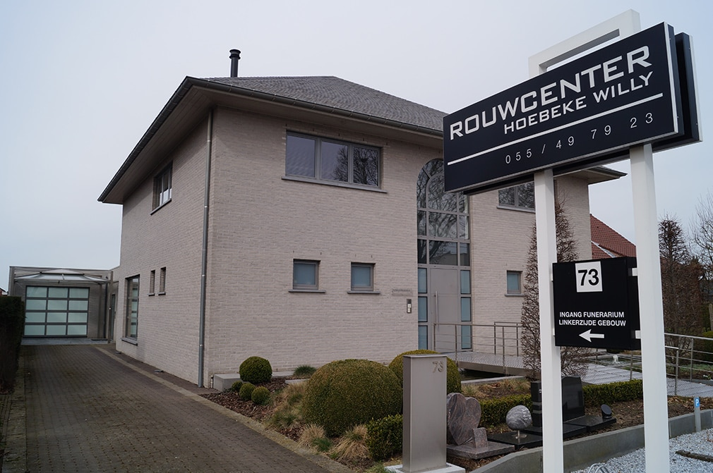 Rouwcenter Hoiebeke - Zwalm - Ceremonie - begrafenis - onderneming